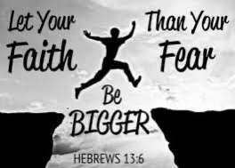 Faith & Trust – Fear
